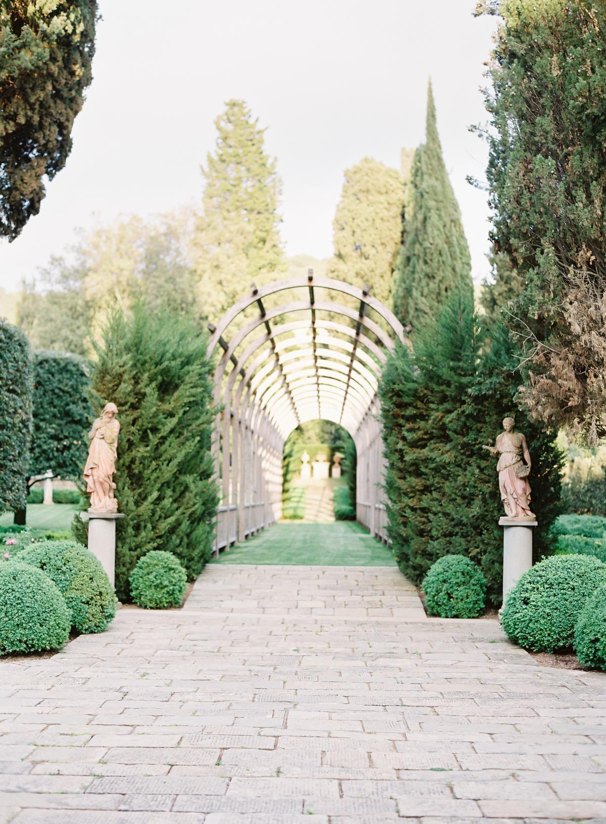 0109 Villa Vignamaggio Tuscany Wedding