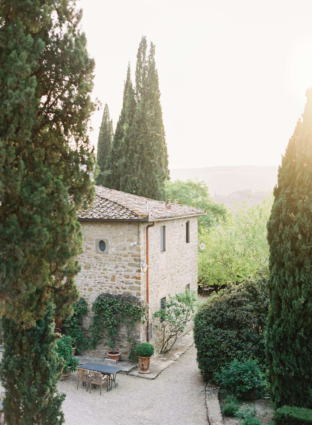 0129 Villa Vignamaggio Tuscany Wedding