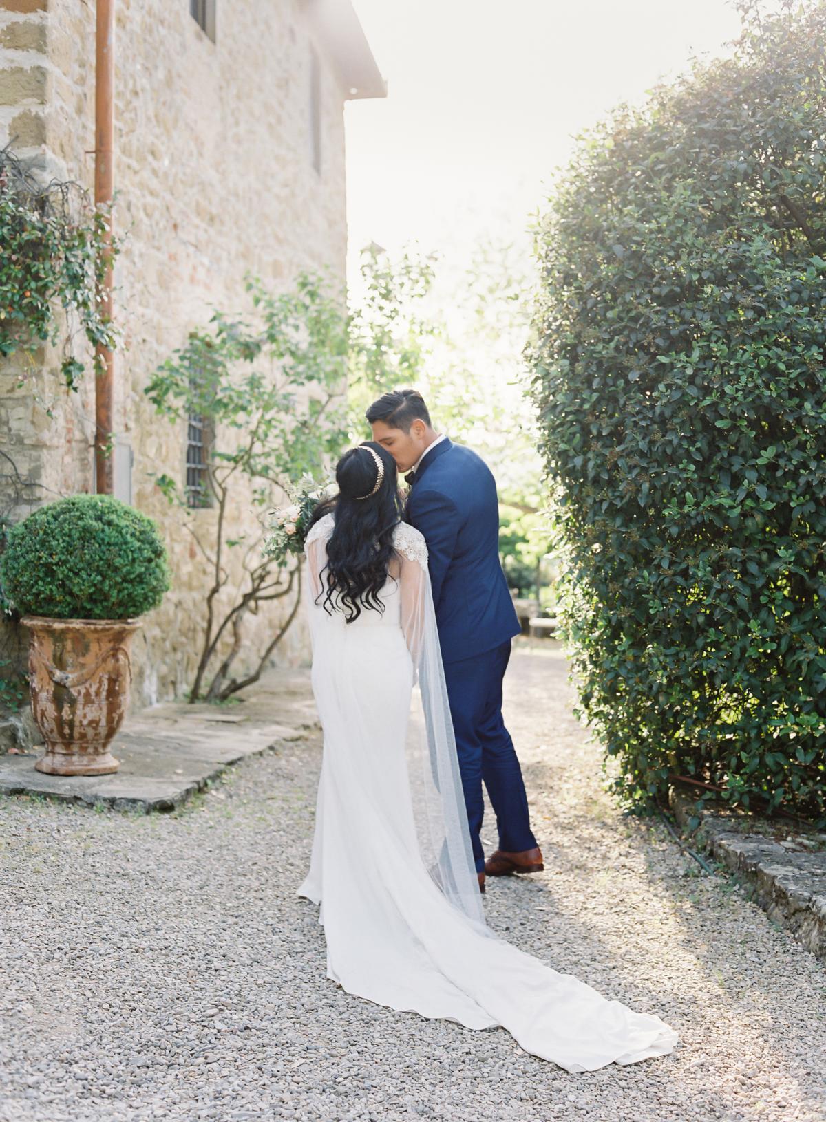 0137 Villa Vignamaggio Tuscany Wedding