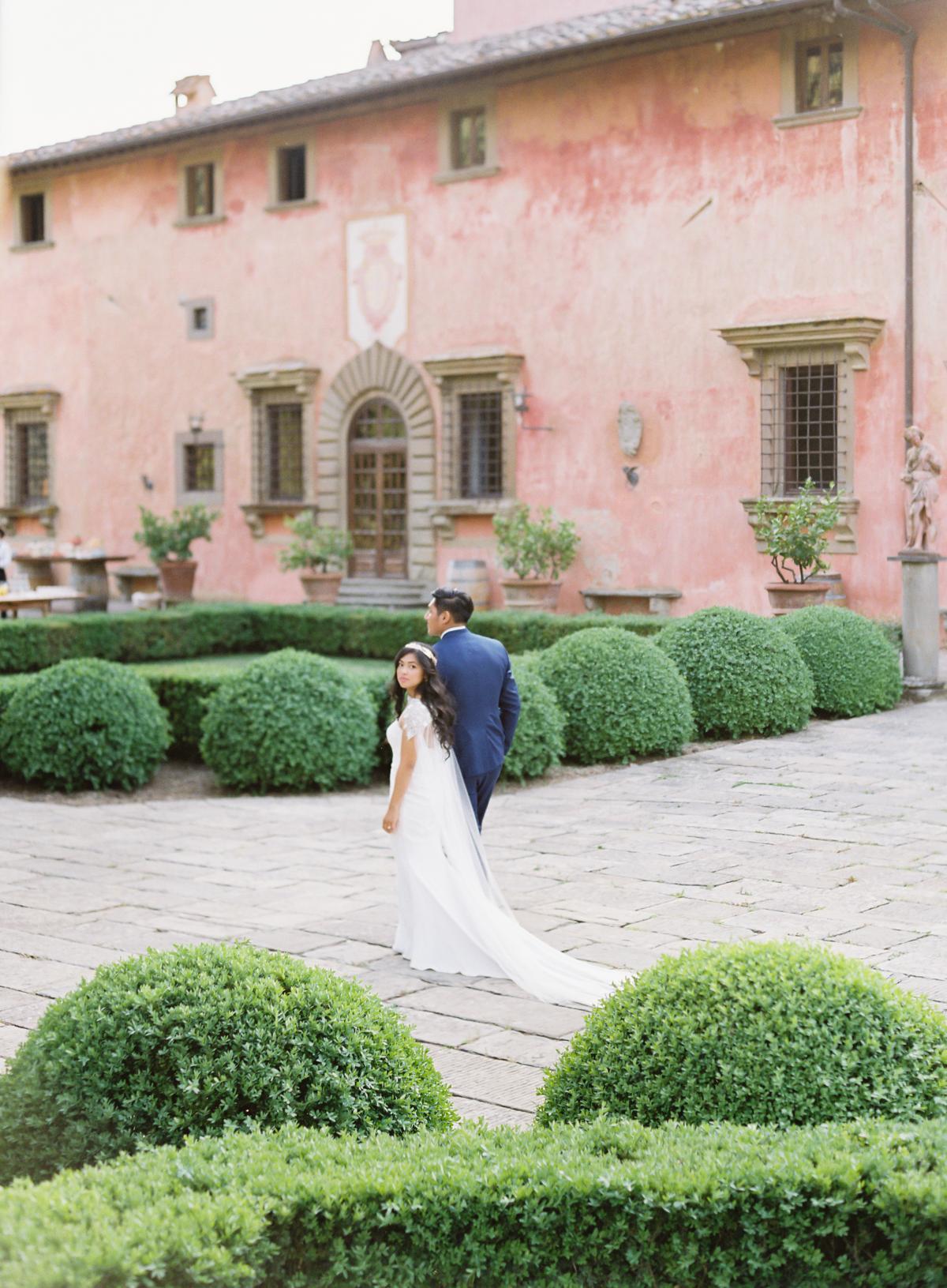 0149 Villa Vignamaggio Tuscany Wedding