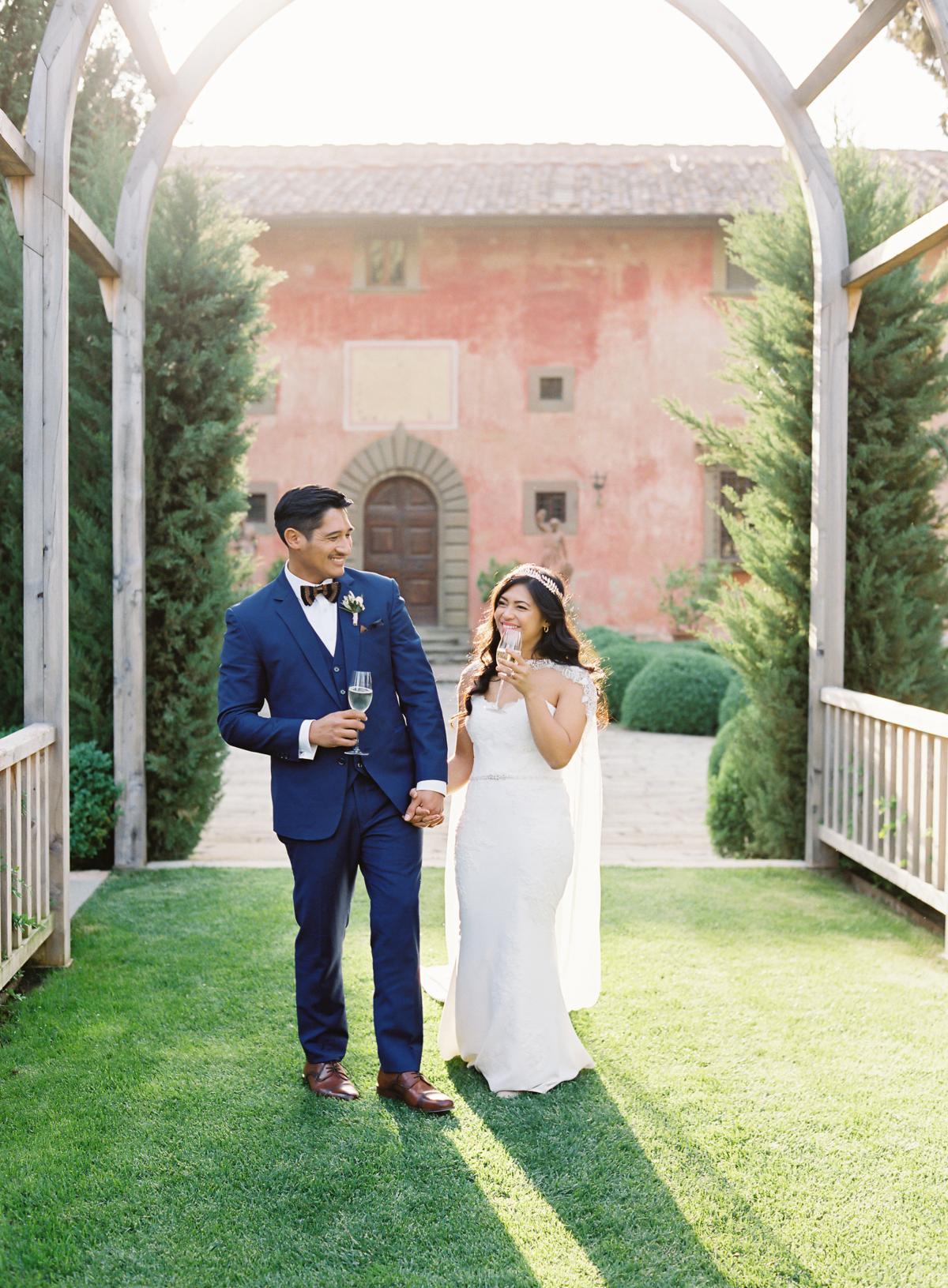 0155 Villa Vignamaggio Tuscany Wedding