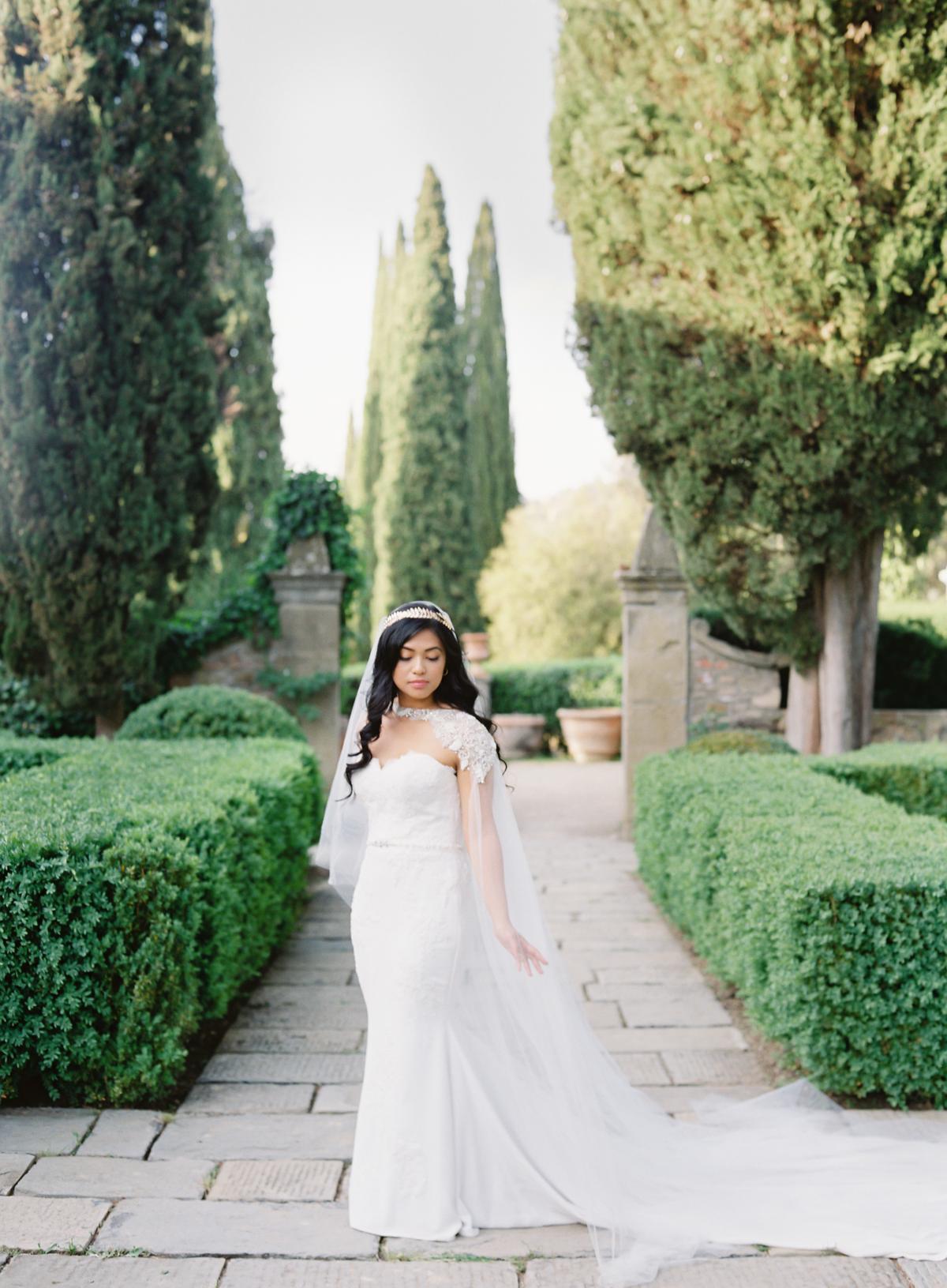 0173 Villa Vignamaggio Tuscany Wedding