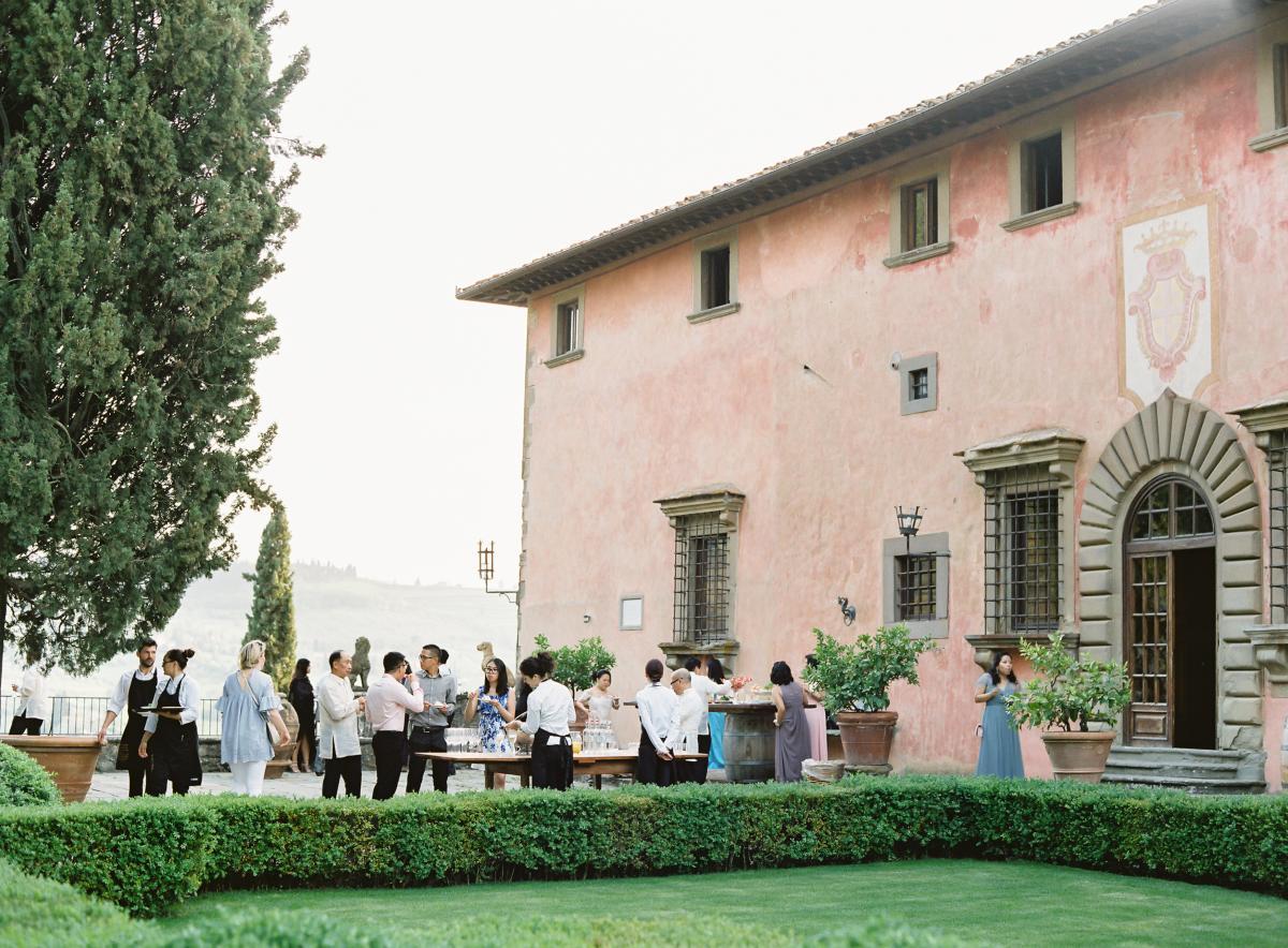 0231 Villa Vignamaggio Tuscany Wedding