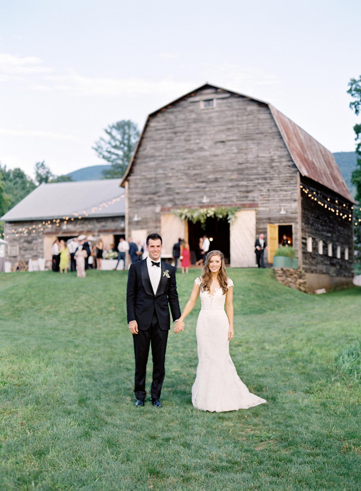Catskill Mountains Hayfield Deer Mountain Wedding 0053