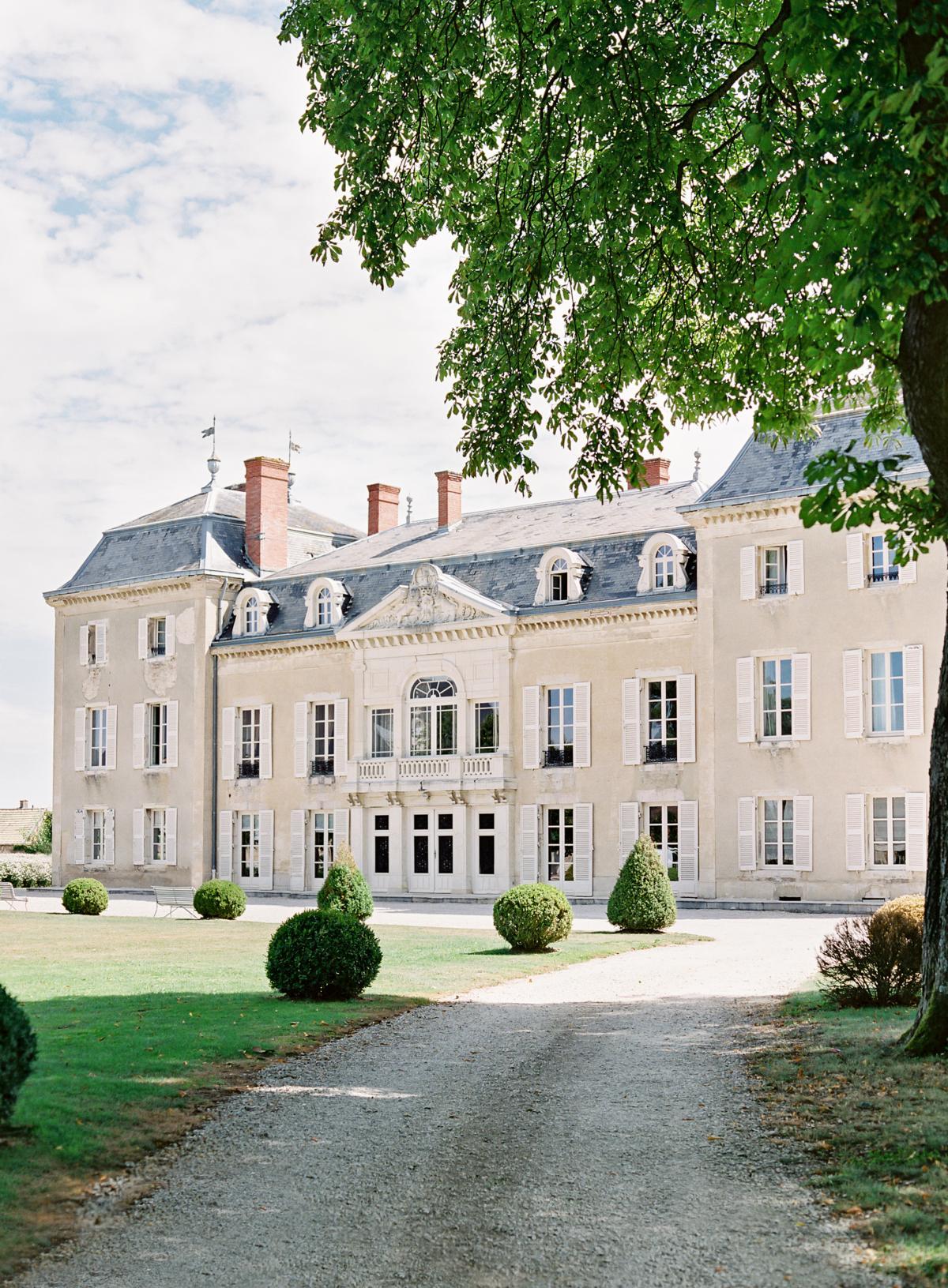 Chateau De Varennes Sinclair And Moore Wedding 0003