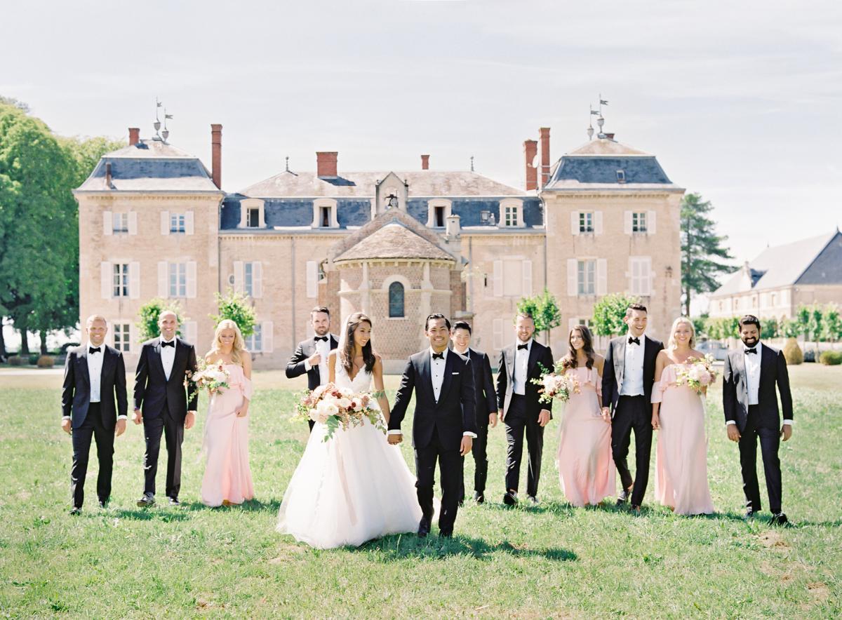 Chateau De Varennes Sinclair And Moore Wedding 0065