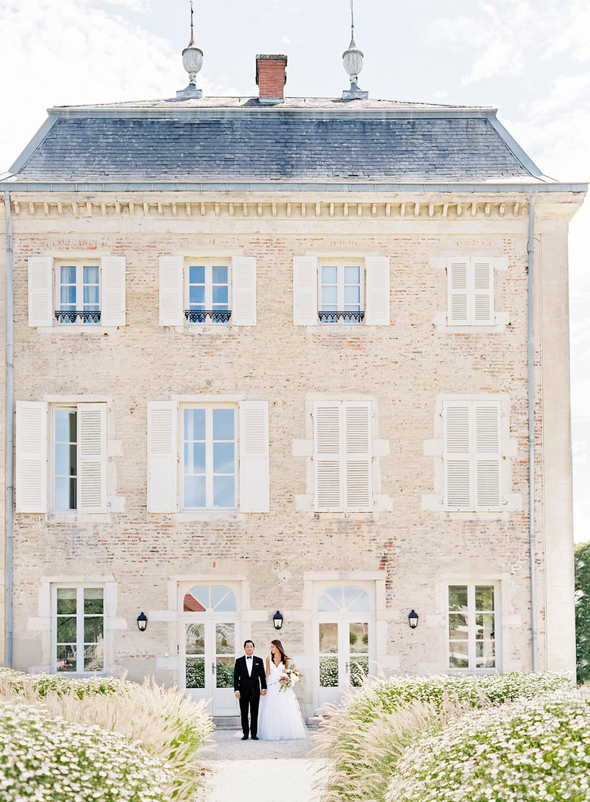 Chateau De Varennes Sinclair And Moore Wedding 0148