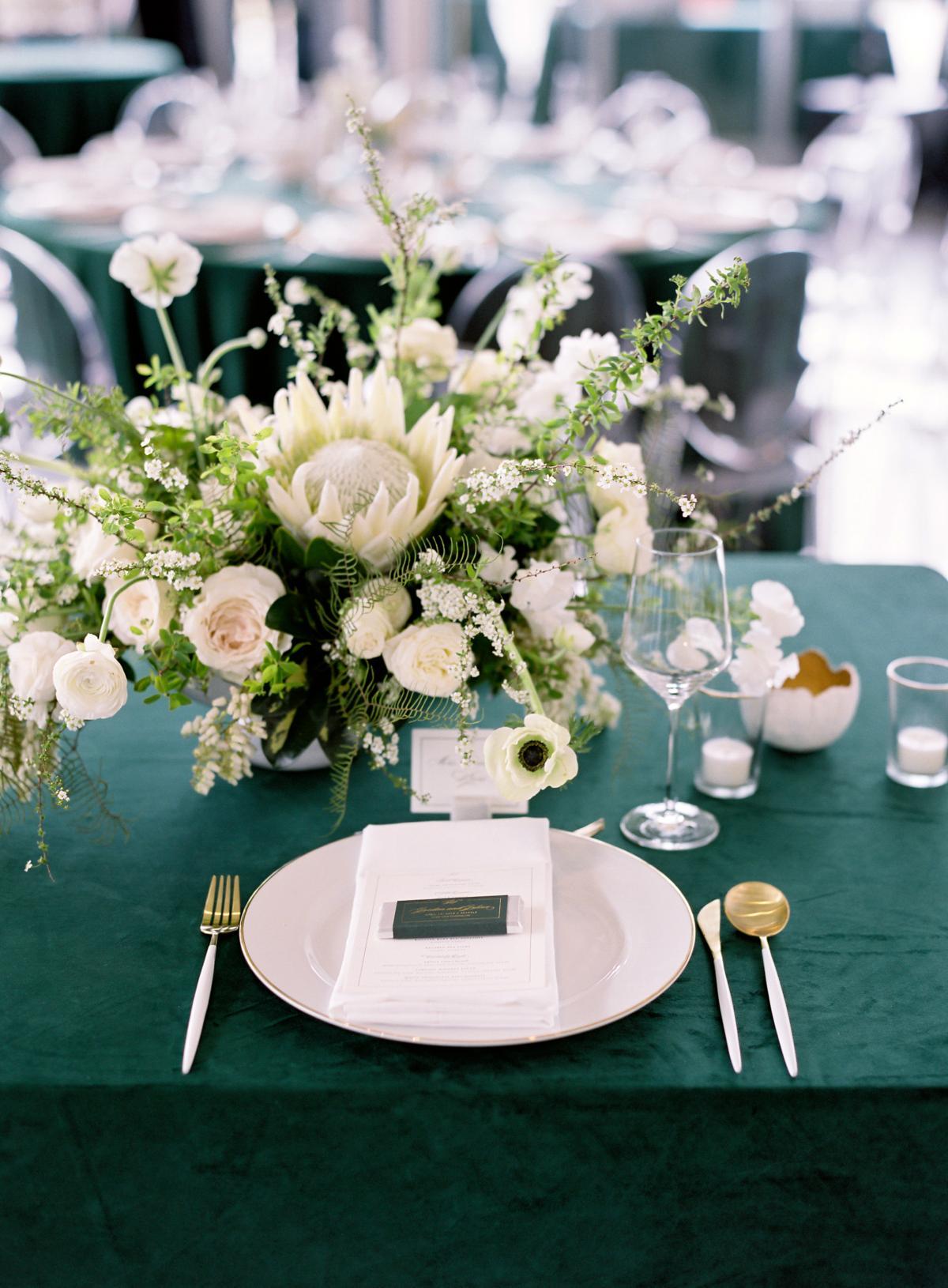 Downtown Seattle Emerald Green Wedding 0007