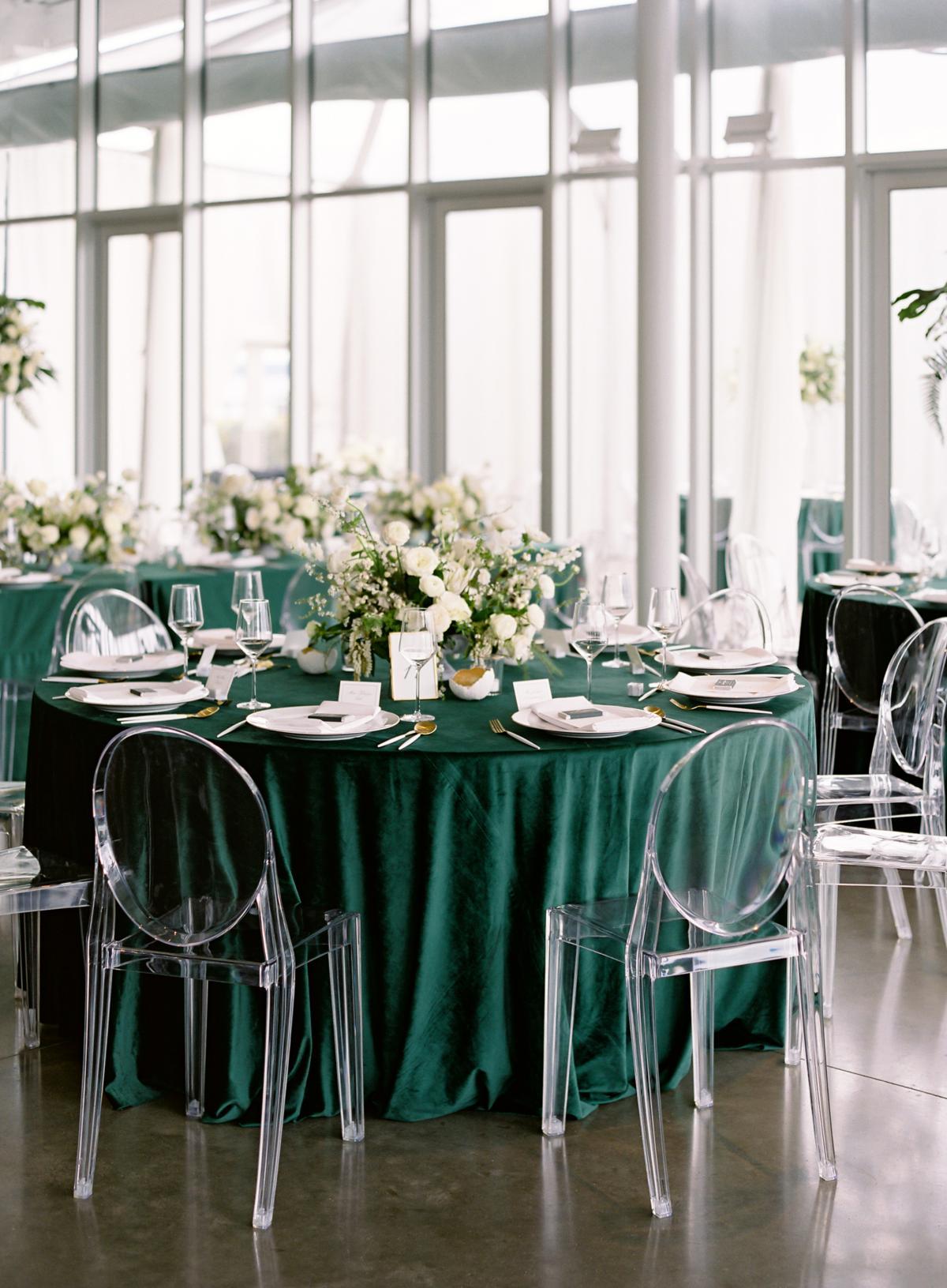 Downtown Seattle Emerald Green Wedding 0018