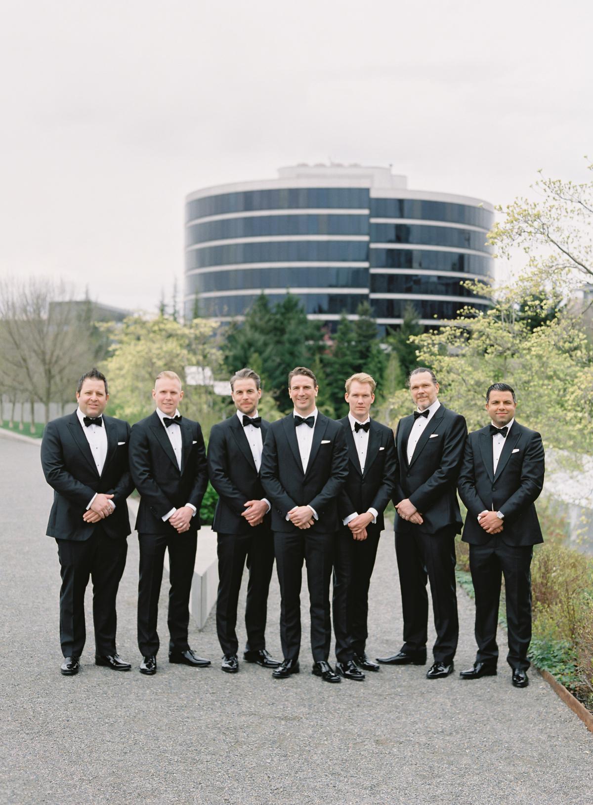 Downtown Seattle Emerald Green Wedding 0023