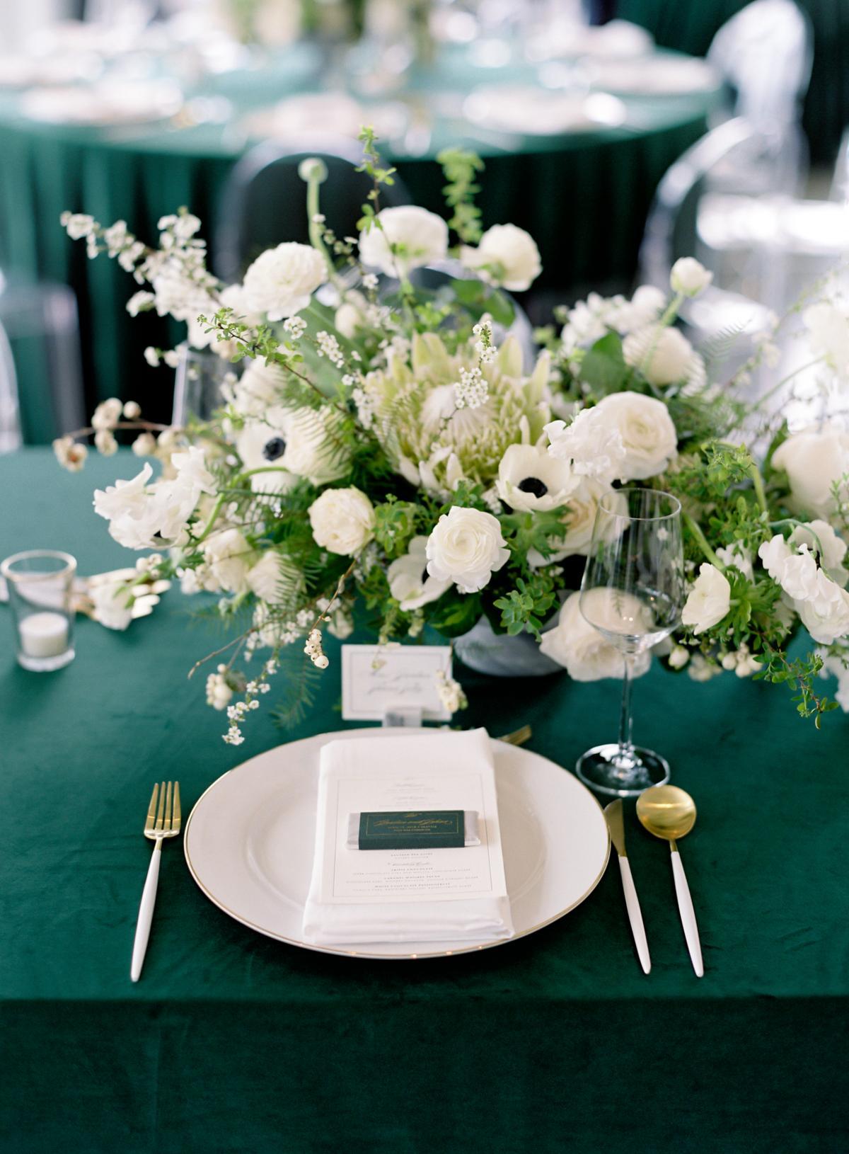 Downtown Seattle Emerald Green Wedding 0032