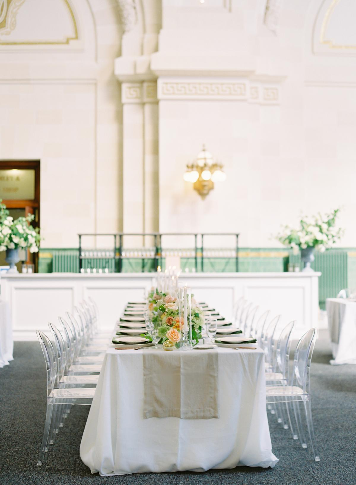 Great Hall At Union Station Seattle Wedding 0031
