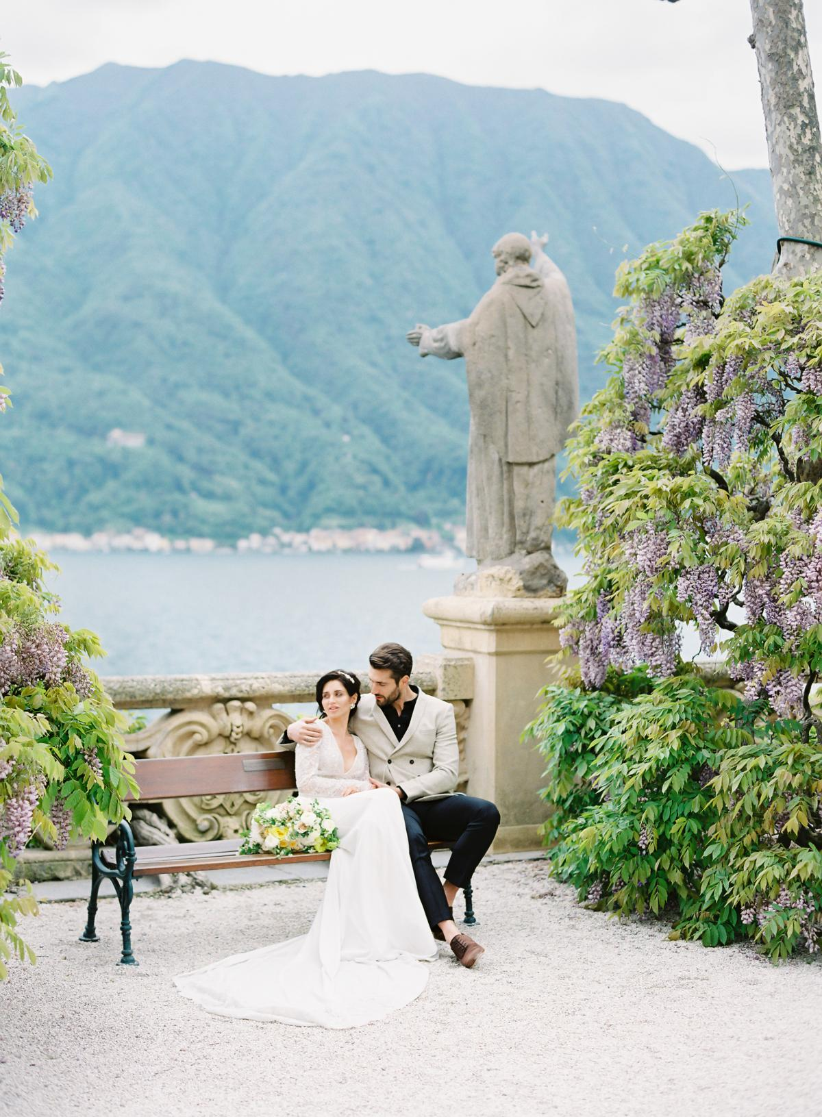 Lake Como Villa Del Balbianello Wedding Omalley Photographers 0035