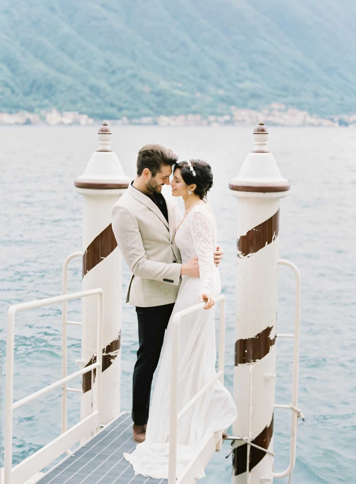 Lake Como Villa Del Balbianello Wedding Omalley Photographers 0043