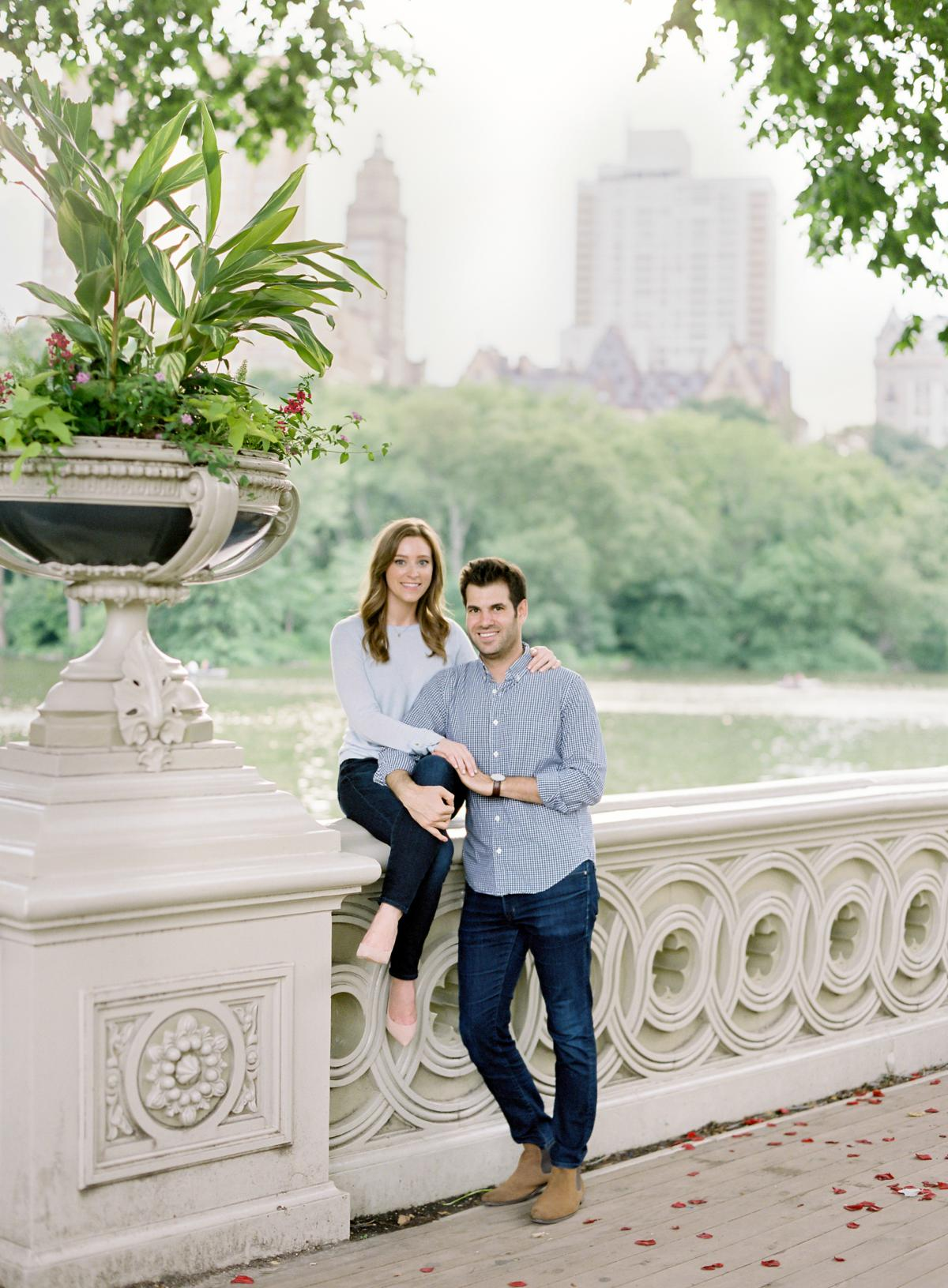 New York City Engagement Session Central Park 0014