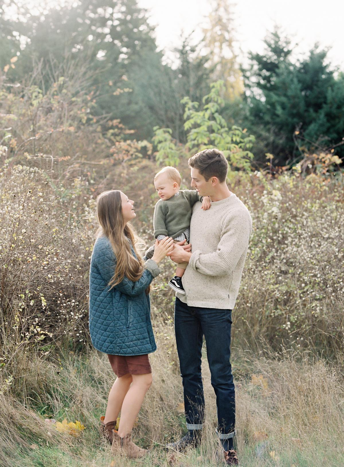 Seattle Family Session Film Photography 0007