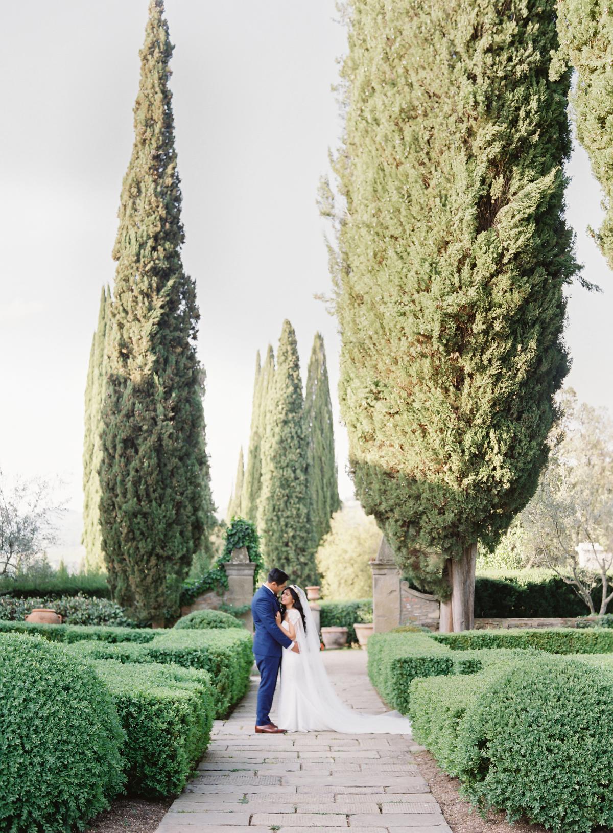 0162 Villa Vignamaggio Tuscany Wedding