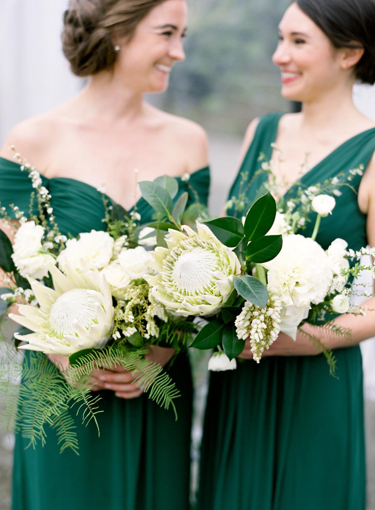 Downtown Seattle Emerald Green Wedding 0022