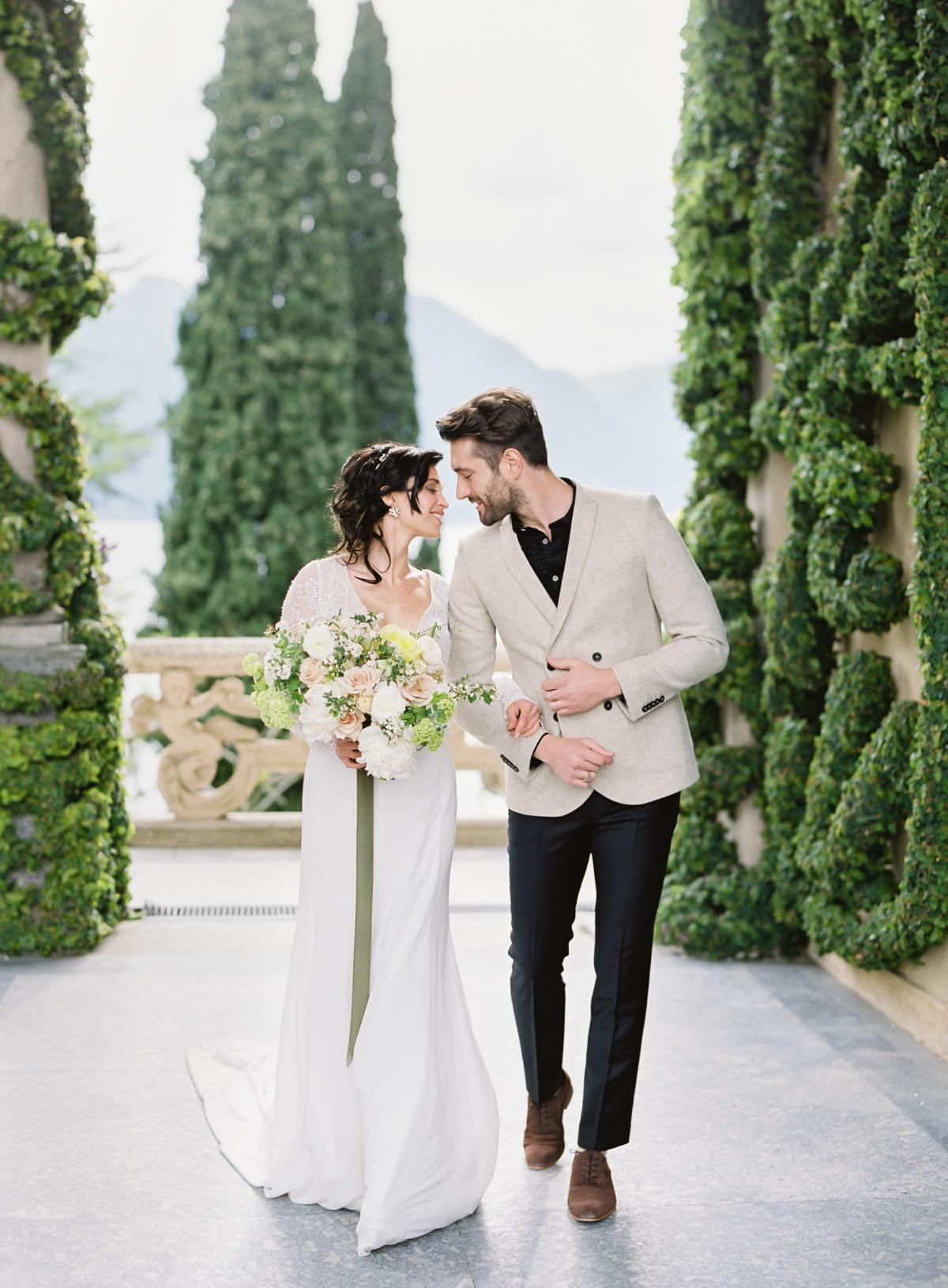 Lake Como Villa Del Balbianello Wedding Omalley Photographers 0003