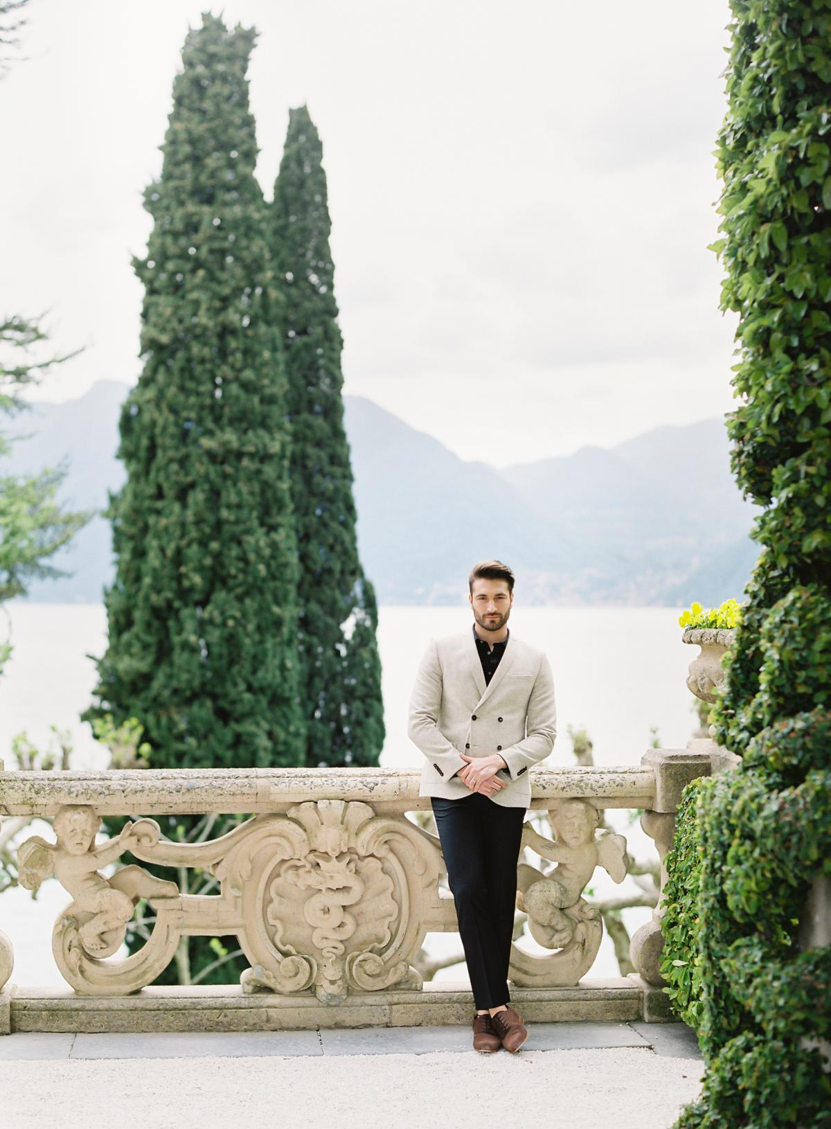 Lake Como Villa Del Balbianello Wedding Omalley Photographers 0010