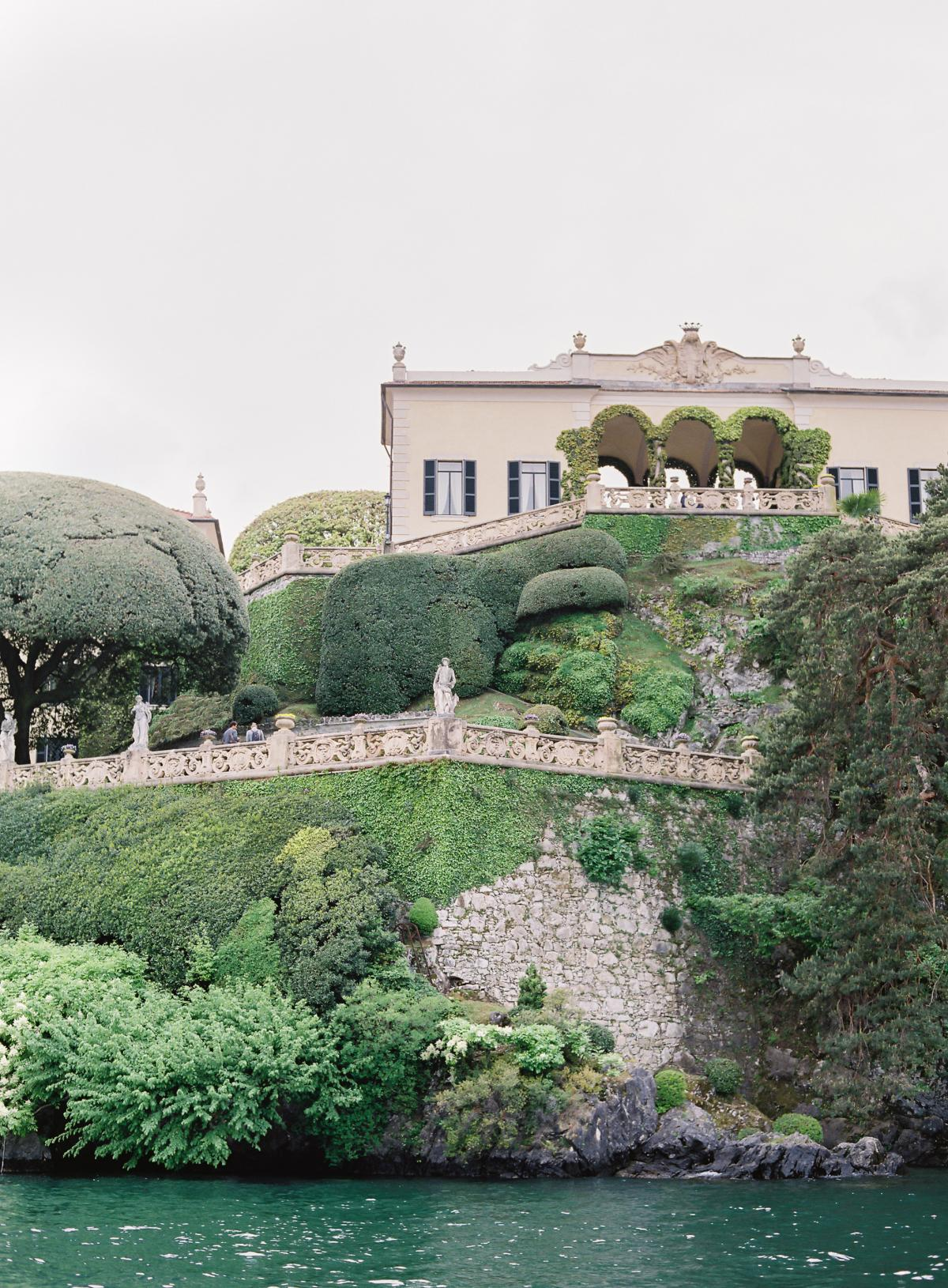 Lake Como Villa Del Balbianello Wedding Omalley Photographers 0041