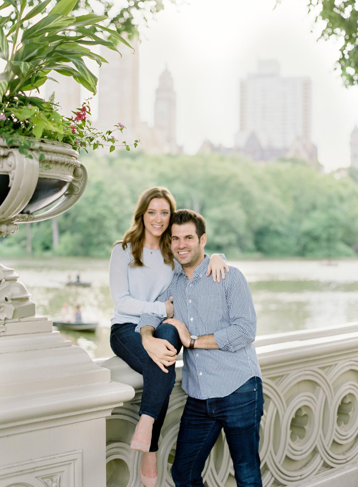 New York City Engagement Session Central Park 0017